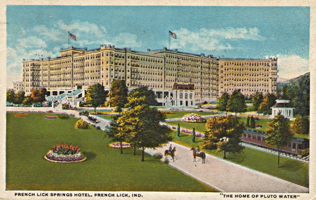 Historic experience package at french lick springs hotel for Oldest hotels in america